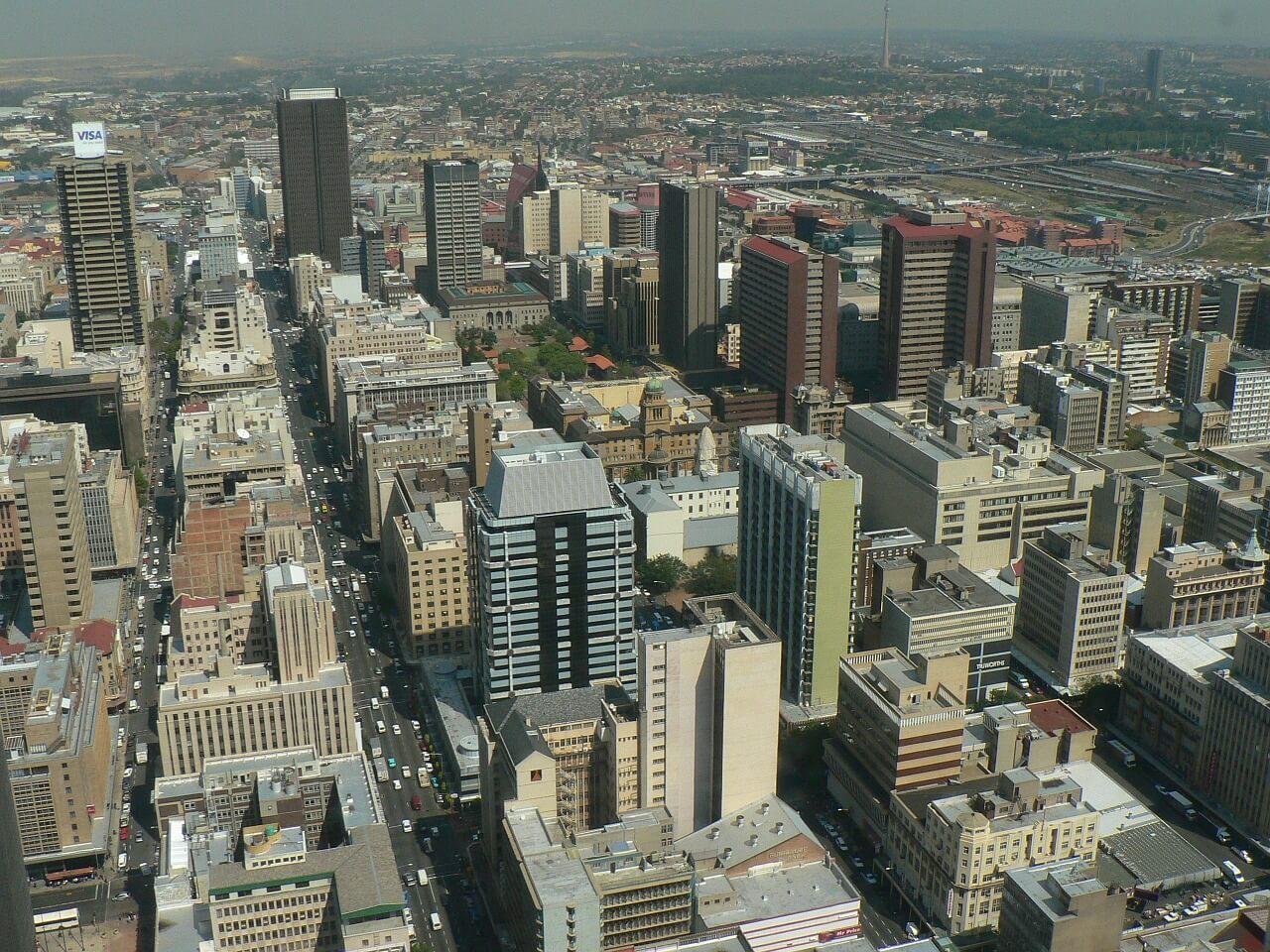 Skyline, Johannesburg, South Africa
